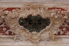 Dettaglio dell'altare Fotografia Stock