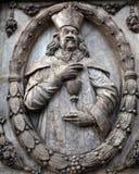 Dettaglio dell'altare, cattedrale di Wurzburg Fotografia Stock