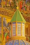 Dettaglio dell'altare della cattedrale di Vank Immagine Stock