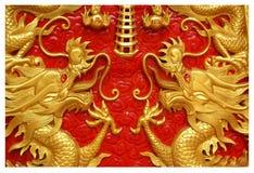 Dettaglio dell'altare in Ting Kwan Tang Temple Sanctuary di Serene Light In Phuket fotografia stock libera da diritti