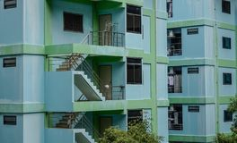 Dettaglio dell'appartamento a Bangkok, Tailandia fotografia stock libera da diritti