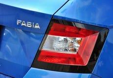 Dettaglio dell'automobile di Skoda Fotografia Stock Libera da Diritti