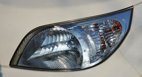 Dettaglio dell'automobile, luci Fotografia Stock