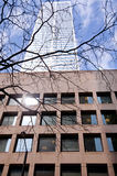 Dettaglio dell'edificio per uffici del highrise di Toronto Fotografia Stock