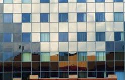 Dettaglio dell'estratto dell'edificio per uffici Immagine Stock Libera da Diritti