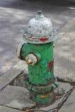 Dettaglio dell'idrante antincendio Immagine Stock