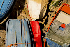 Dettaglio della barca Fotografia Stock Libera da Diritti