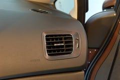 Dettaglio della cabina di pilotaggio dell'automobile Fotografia Stock