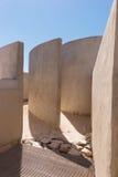 Dettaglio della camera del suono a Fortaleza de Sagres Fotografie Stock Libere da Diritti