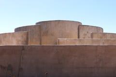Dettaglio della camera del suono a Fortaleza de Sagres Fotografie Stock