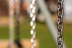Dettaglio della catena del metallo Fotografia Stock