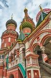 Dettaglio della cattedrale del basilico della st fotografia stock libera da diritti