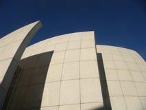 Dettaglio della chiesa moderna Dives in Misericordia da Richard Meier a Roma Italia fotografia stock