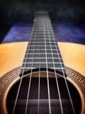 Dettaglio della chitarra Fotografia Stock