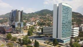Dettaglio della città di Sarajevo fotografia stock libera da diritti