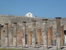 Dettaglio della città rovinata, Pompei Fotografie Stock Libere da Diritti