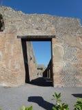 Dettaglio della città rovinata, Pompei Fotografia Stock