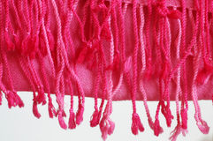 Dettaglio della coperta della lana Fotografia Stock Libera da Diritti
