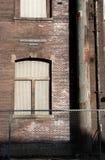 Dettaglio della costruzione del complesso industriale Fotografie Stock Libere da Diritti