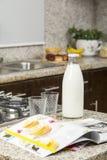 Dettaglio della cucina all'interno della casa Fotografie Stock