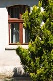 Dettaglio della finestra della casa di campagna Fotografia Stock Libera da Diritti