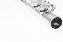 Dettaglio della flauto Immagini Stock
