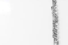 Dettaglio della flauto Fotografie Stock Libere da Diritti