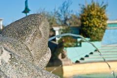 Dettaglio della fontana delle sirene & di x28; italy& x29 di cattolica; Immagini Stock Libere da Diritti