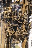 Dettaglio della fontana di carnevale fotografie stock libere da diritti