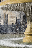 Dettaglio della fontana di lucae Fotografie Stock