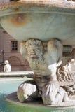 Dettaglio della fontana di Pretoria a Palermo immagini stock libere da diritti