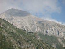 Dettaglio della montagna di Vihren in Bulgaria immagini stock libere da diritti