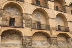 Dettaglio della Moschea-cattedrale, Cordova, Andalusia, Spagna Immagini Stock Libere da Diritti
