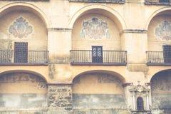Dettaglio della Moschea-cattedrale, Cordova, Andalusia, Spagna Fotografie Stock Libere da Diritti