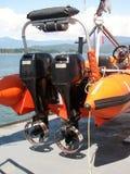 Dettaglio della nave di soccorso Fotografia Stock