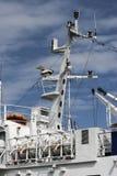 Dettaglio della nave passeggeri Fotografia Stock