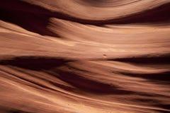 Dettaglio della parete di canyon Fotografia Stock
