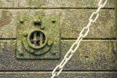 Dettaglio della parete di Tamigi Immagine Stock Libera da Diritti
