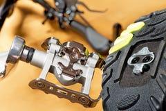 Dettaglio della pista ciclabile Fotografie Stock