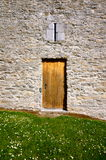 Dettaglio della porta del castello di Ross a Killarney Immagini Stock Libere da Diritti