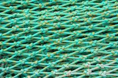 Dettaglio della rete da pesca fotografia stock libera da diritti