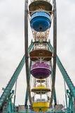 Dettaglio della ruota panoramica Fotografie Stock