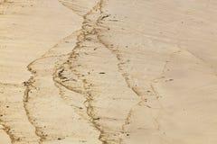 Dettaglio della sabbia Immagini Stock