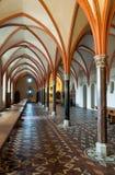 Dettaglio della sala da pranzo del castello di Malbork Fotografia Stock