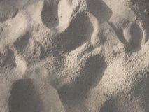 Dettaglio della spiaggia di sabbia fotografie stock libere da diritti
