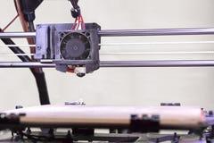Dettaglio della stampante 3D Fotografia Stock Libera da Diritti