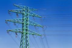 Dettaglio della torre di elettricità Immagine Stock Libera da Diritti