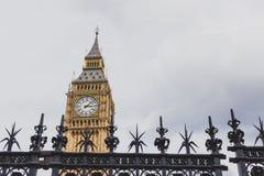 Dettaglio della torre di orologio di Big Ben Fotografia Stock