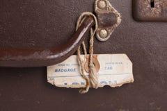 Dettaglio della valigia Immagine Stock Libera da Diritti