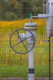 Dettaglio della valvola della ruota Immagini Stock Libere da Diritti